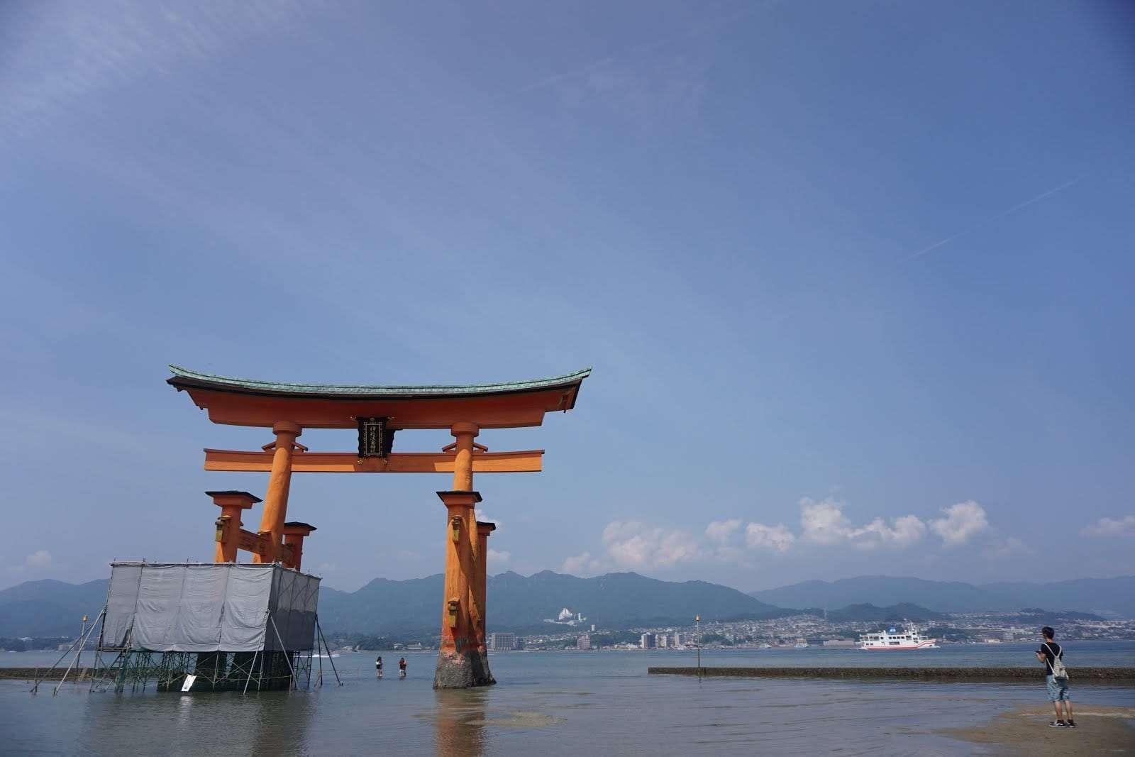 Itukushima Shrine - Torii Gates