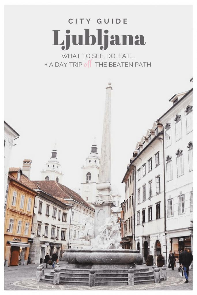 Pin It! Ljubljana City Guide