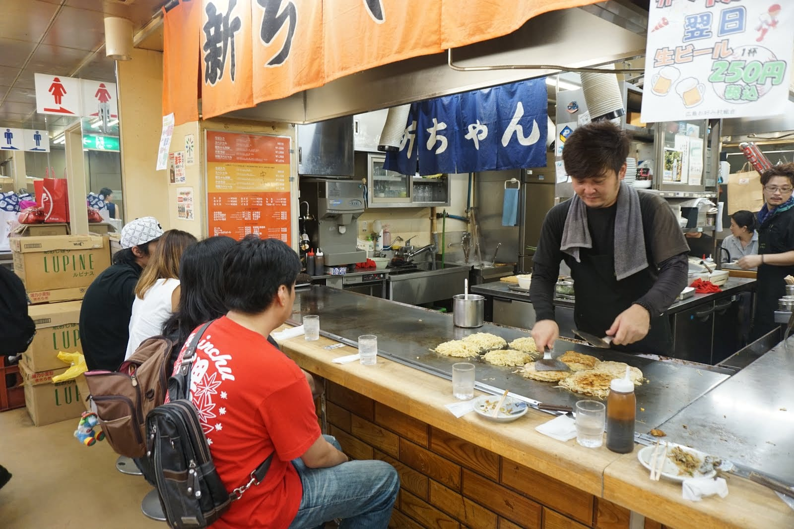 Okonomiyaki, Hiroshima