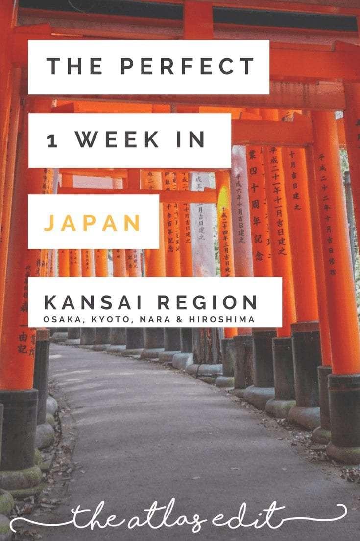 1 Week in Japan Itinerary