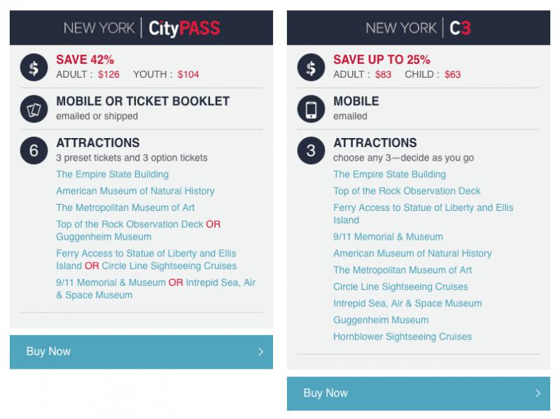 NY CityPass 2019