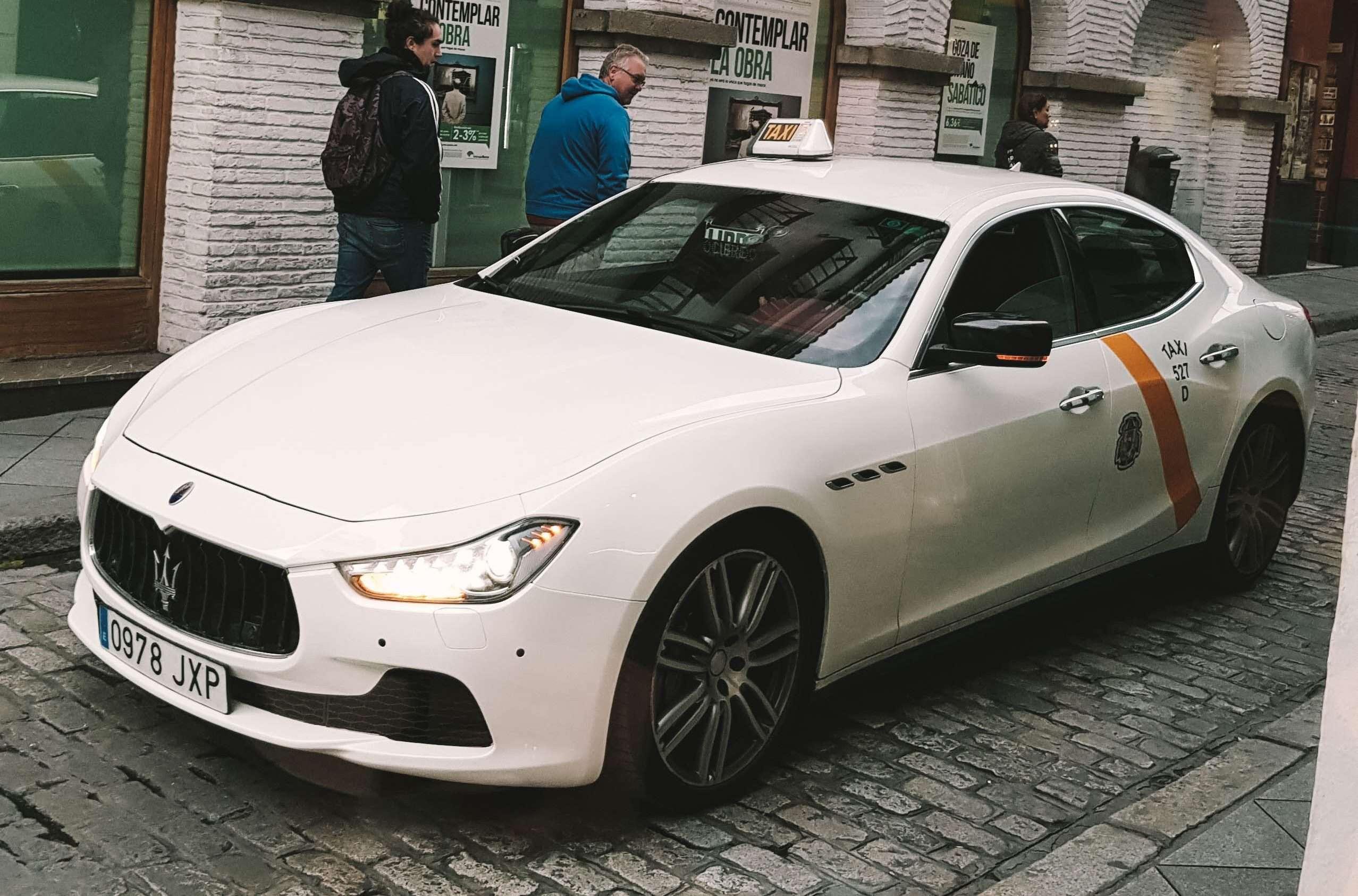 Maserati Taxi in Seville