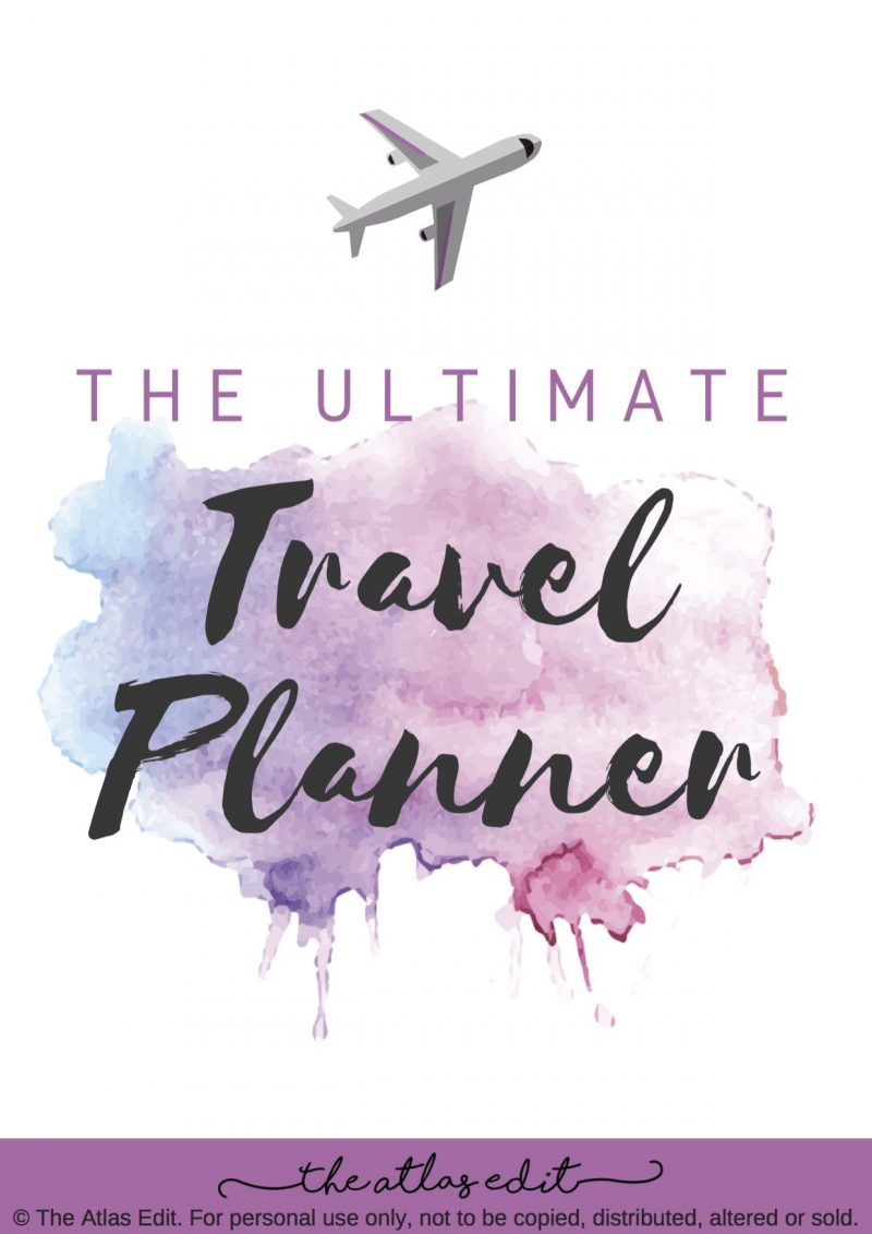 The Ultimate Travel Planner by The Atlas Edit