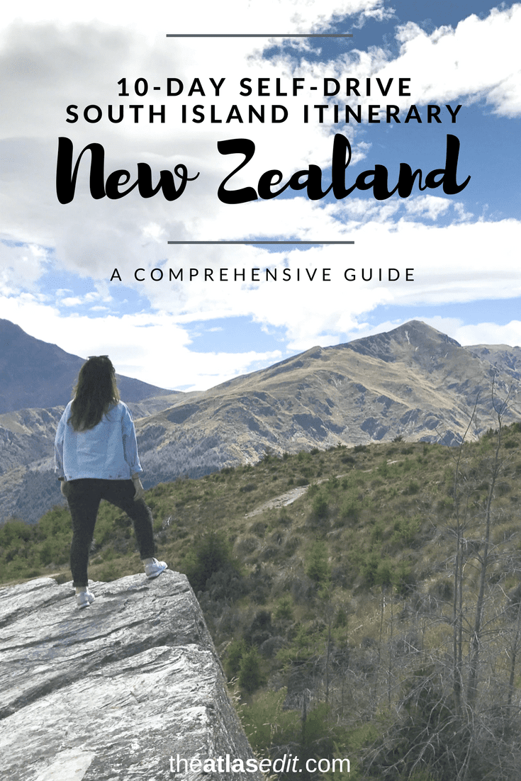 How to Road Trip New Zealand's South Island in 10 Days | Pin It!