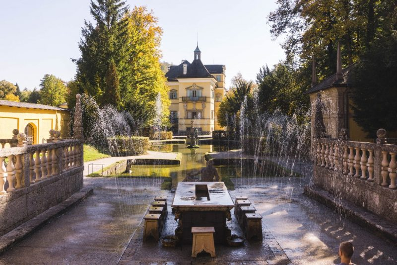 hellbrunn trick fountains