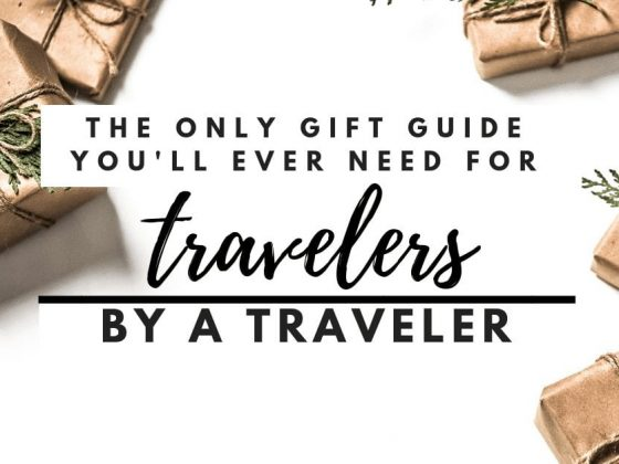 The Only Gift Guide for Travelers You'll Ever Need