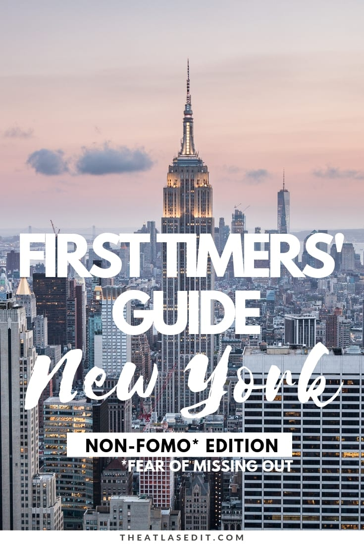 4 Days in New York A Non-FOMO Itinerary for First Timers