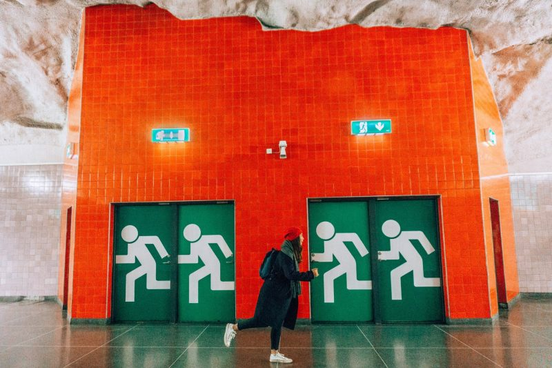 Stockholm Subway Art: Universitetet