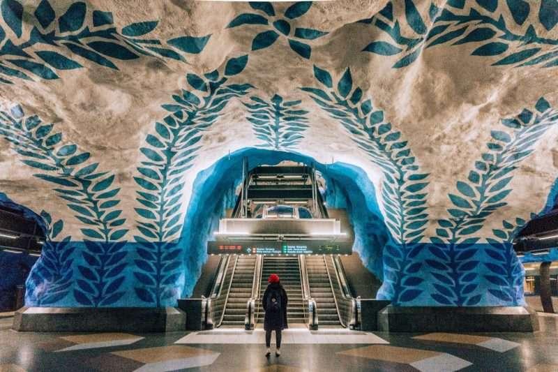 Stockholm Subway Art: T-Centralen