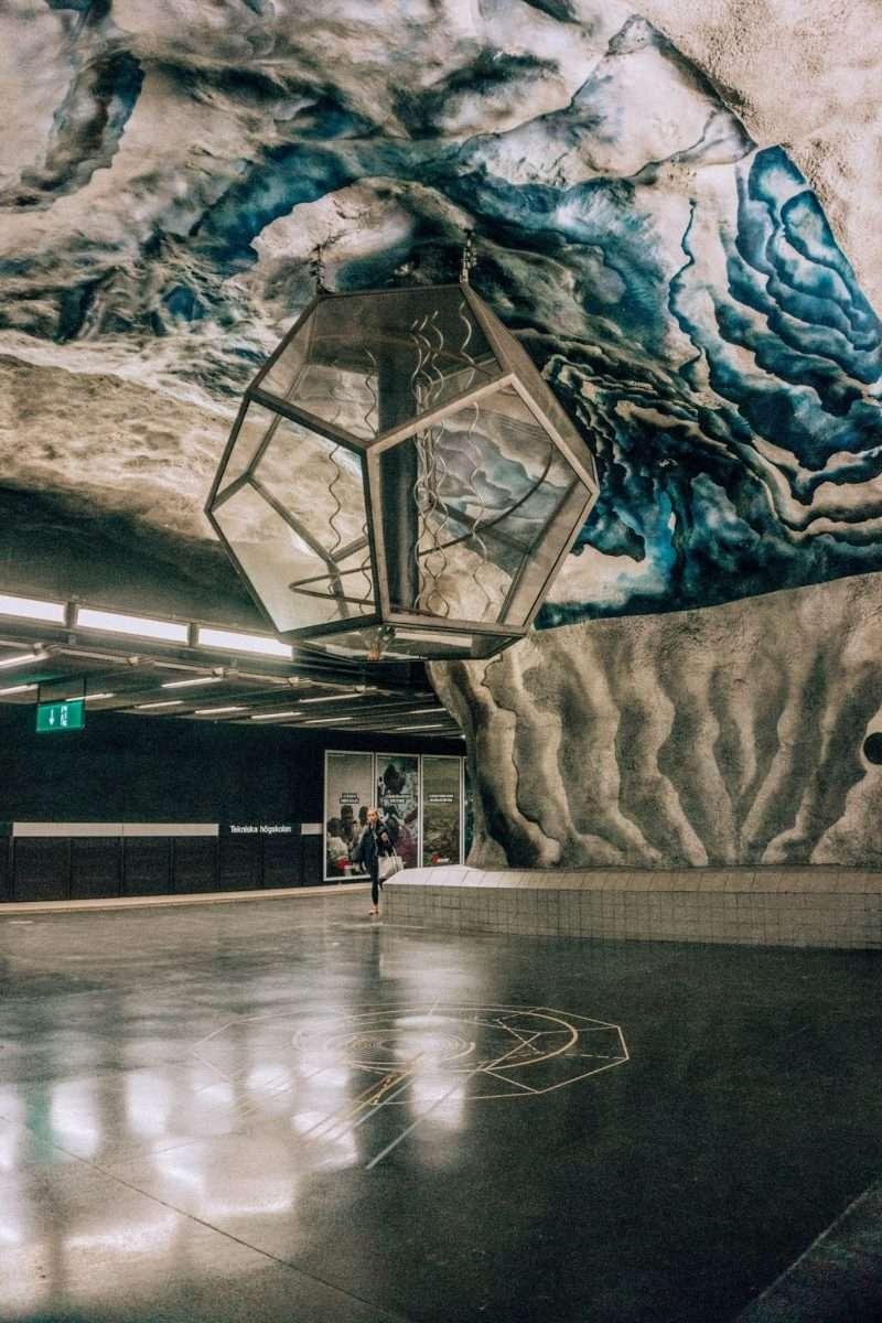 Stockholm Subway Art: Högskolan