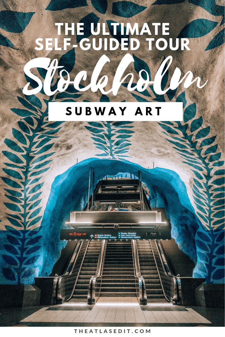 The Ultimate Self-Guided Tour of Stockholm Subway Art