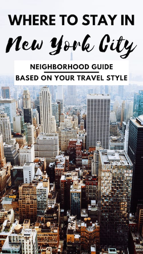 Where to Stay in New York 2