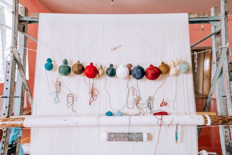 Azerbaijan Carpet Weaving Factory