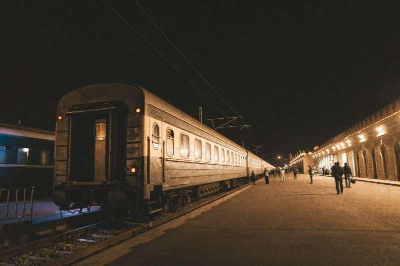 Baku-Tbilisi Train-1