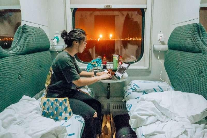 Baku-Tbilisi Train-9